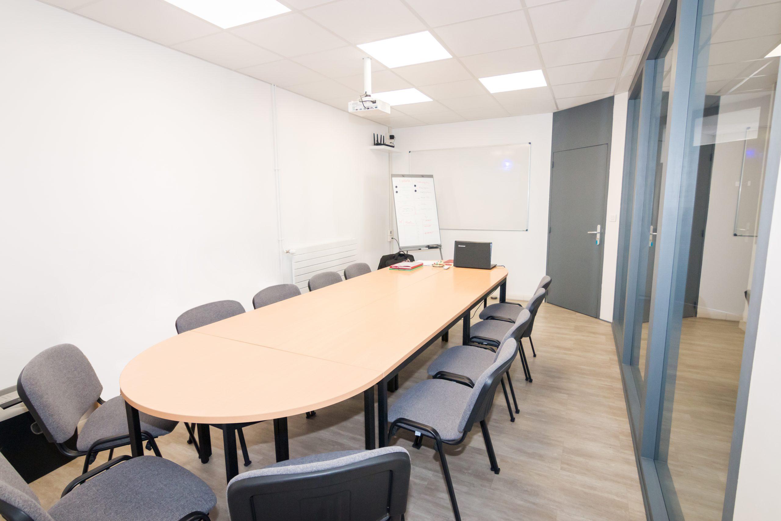 Salle réunion pour formation à Voiron